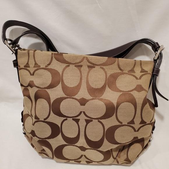 Coach Handbags - Authentic Coach Signature Duffle